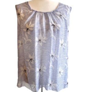 Girl. Band of outsiders blue bow silk blouse